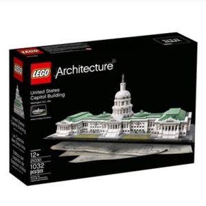 United States Capitol Building LEGO Architect set